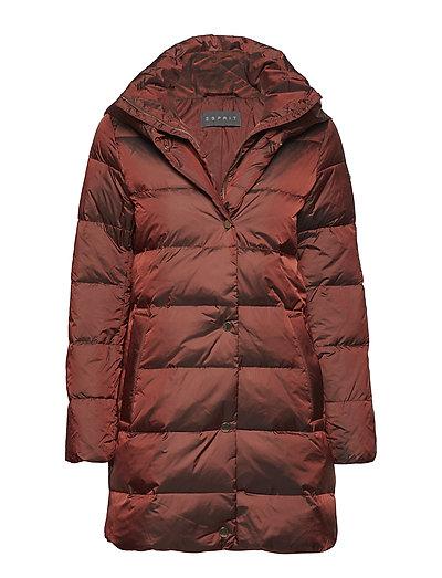 Coats woven - RUST BROWN