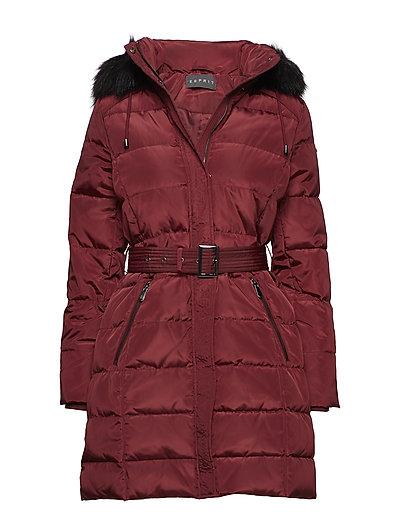 Coats woven - BORDEAUX RED