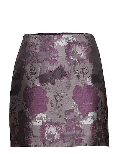 Skirts woven - DARK PURPLE 2