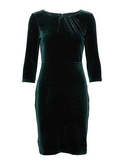 Dresses knitted - DARK TEAL GREEN