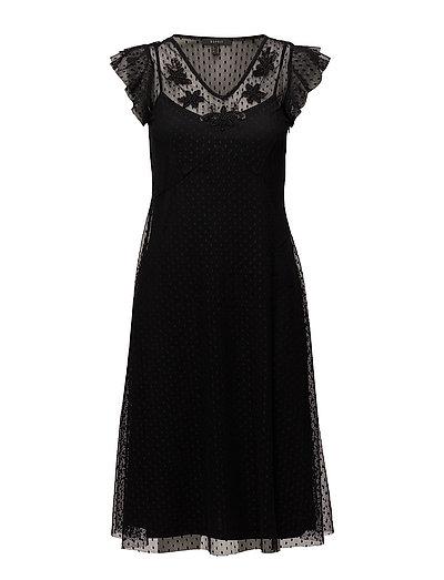 Dresses knitted - BLACK