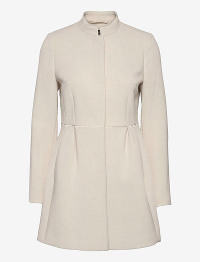 Coats woven - lette frakker - cream beige