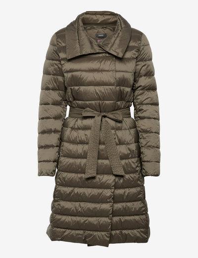 Coats woven - vinterfrakker - dark khaki