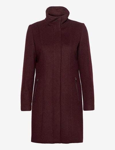 Coats woven - vinterfrakker - bordeaux red
