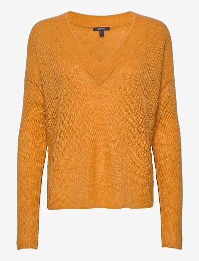 Sweaters - trøjer - honey yellow 5