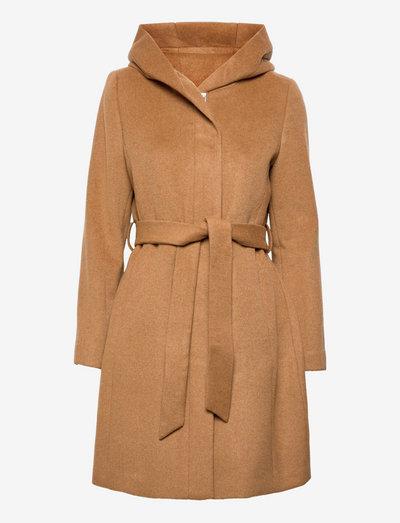 Coats woven - vinterfrakker - caramel