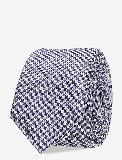 Ties - slips - bright blue 3