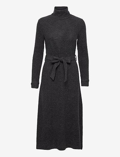Dresses knitted - hverdagskjoler - gunmetal 5