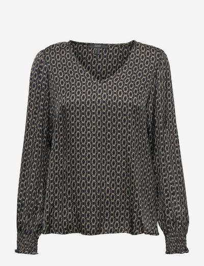 Blouses woven - langærmede bluser - black 3