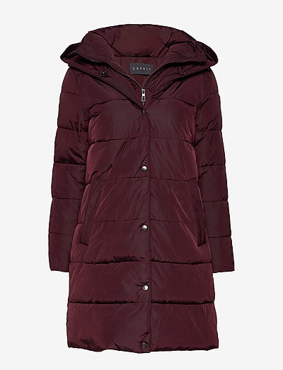 Coats woven - dynefrakke - bordeaux red