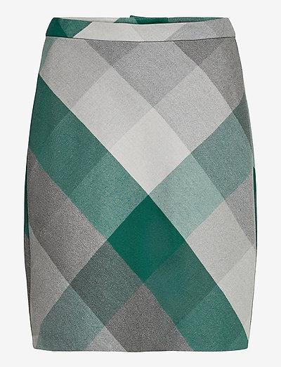 Skirts woven - korte nederdele - bottle green