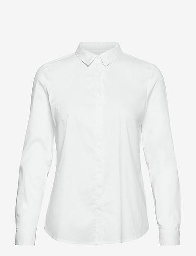Blouses woven - langærmede skjorter - white