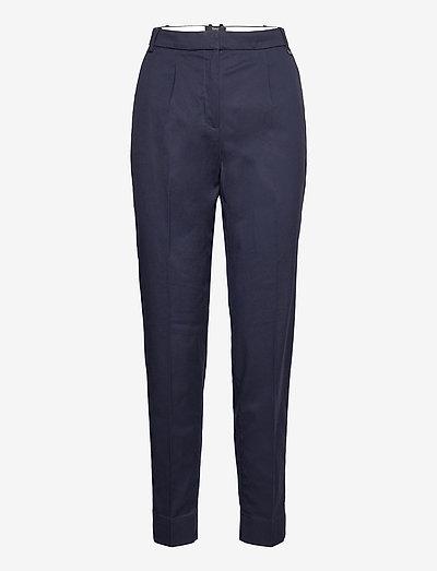 Pants woven - bukser med lige ben - navy