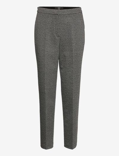 Pants woven - habitbukser - black
