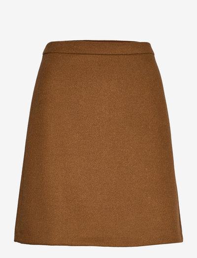 Skirts woven - korte nederdele - toffee