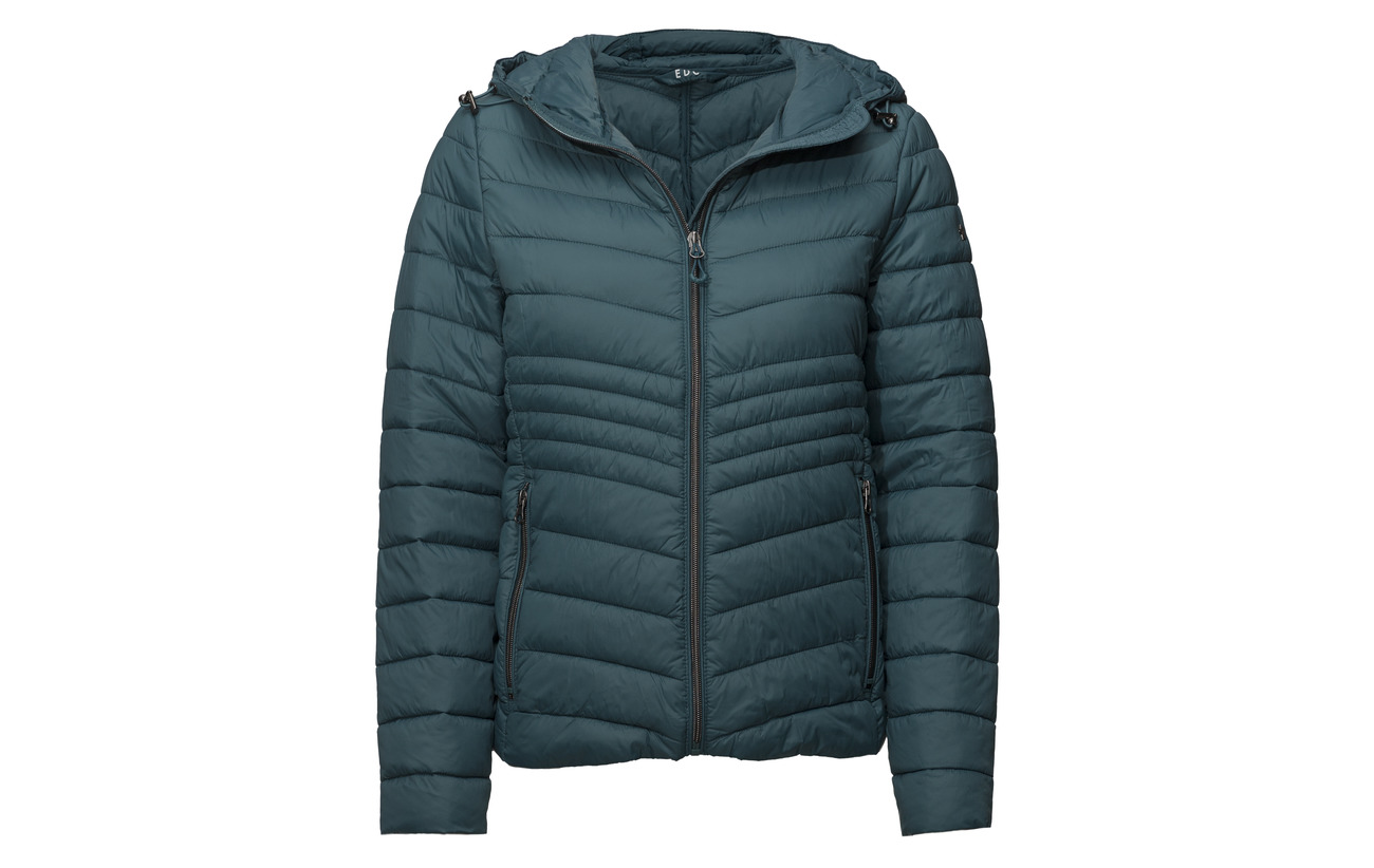 Edc Petrol Woven Outdoor By Blue Polyamide 100 Esprit Jackets xRXvgnqWx