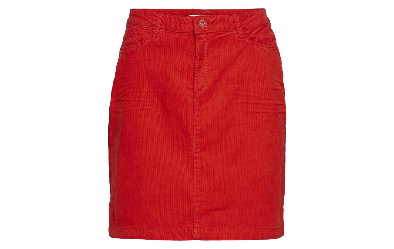 Elastane Orange 98 Esprit Edc Coton Red By 2 Skirts Woven 4xIqYz6q