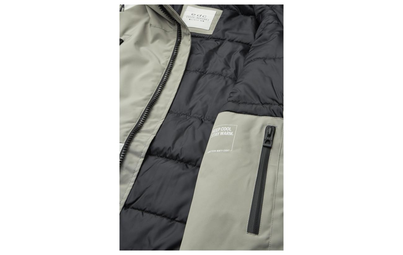 Esprit Jackets Grey Edc Woven Outdoor By Uq4vxEnwB5