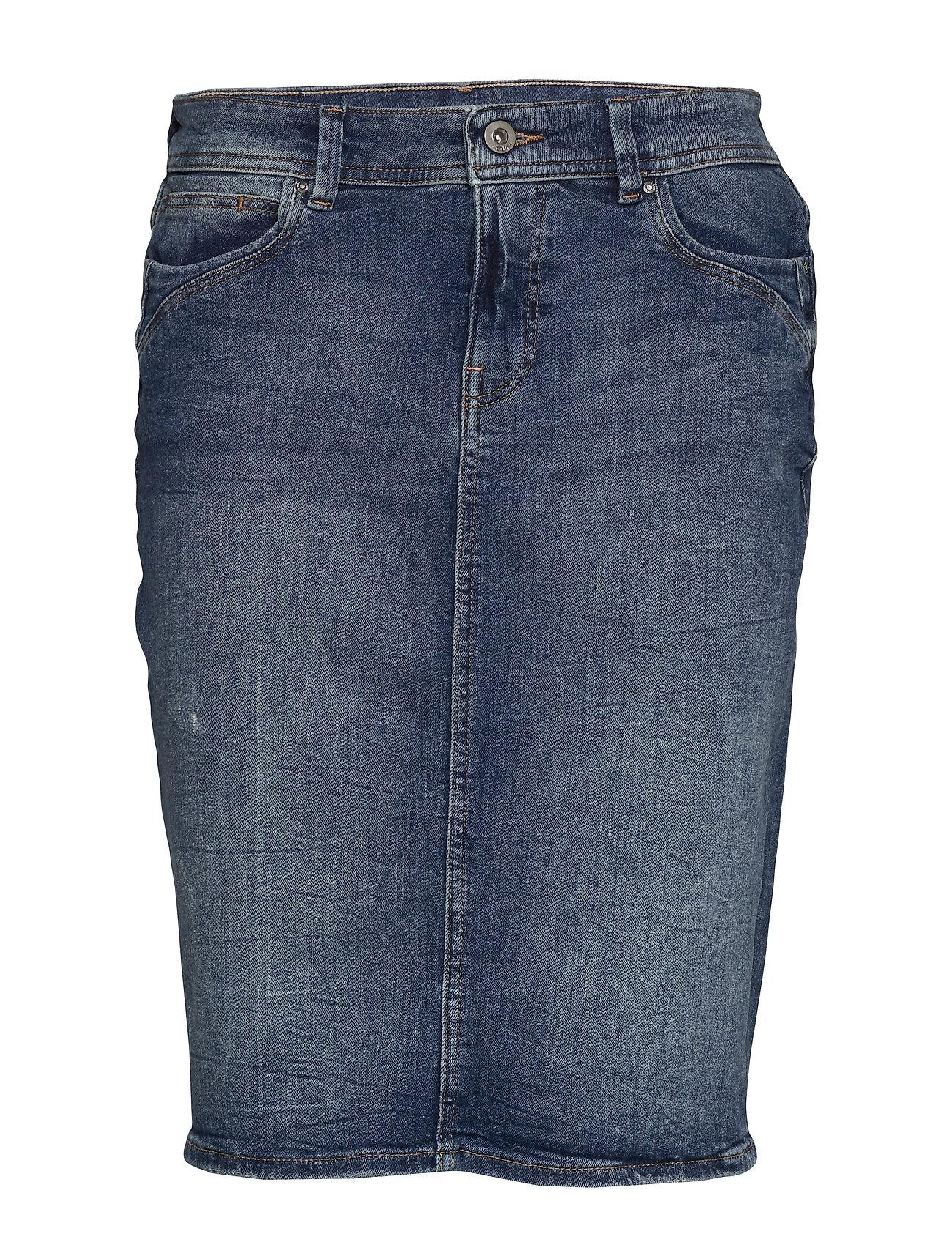 EDC by Esprit Skirts denim - BLUE DARK WASH
