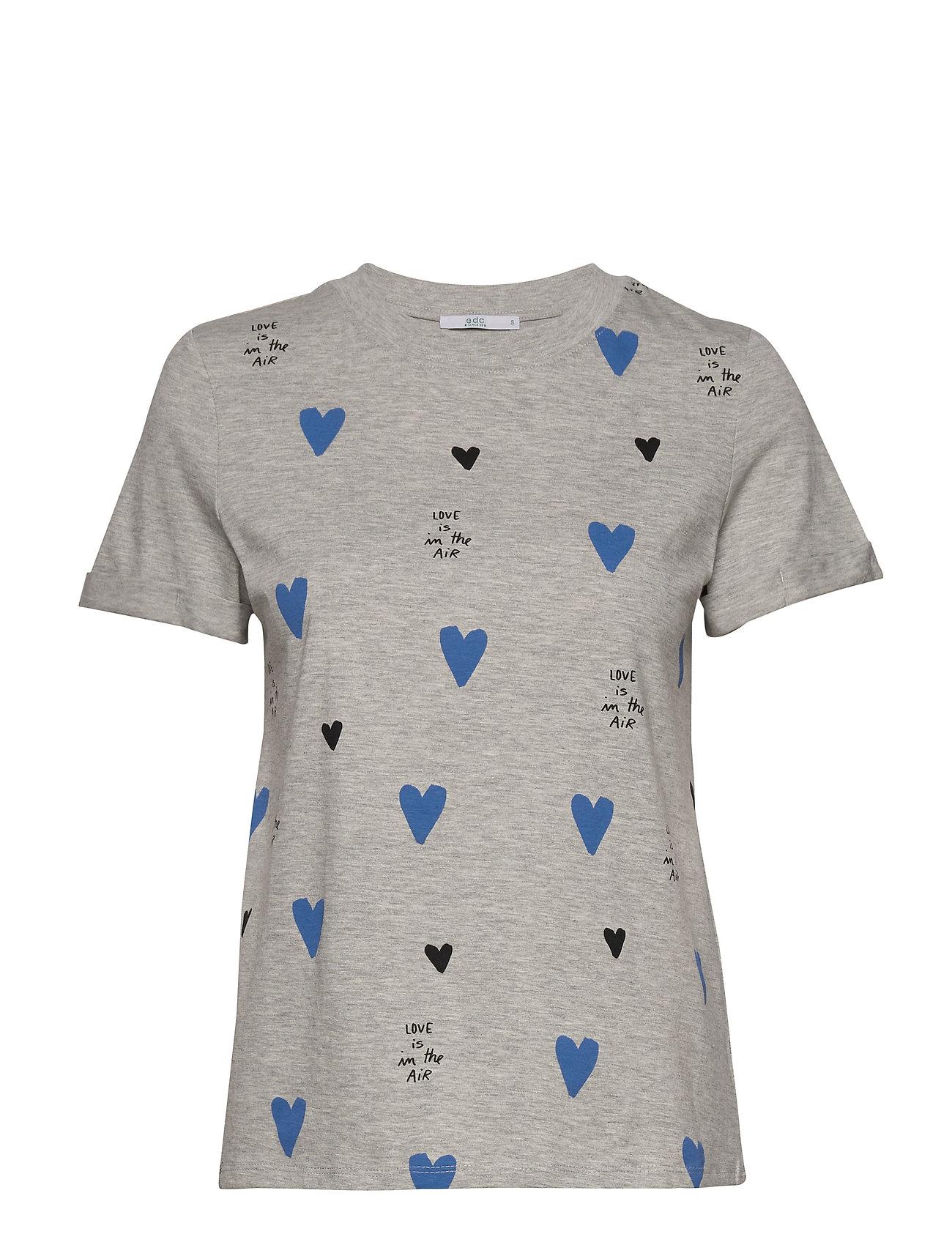 EDC by Esprit T-Shirts - LIGHT GREY 5
