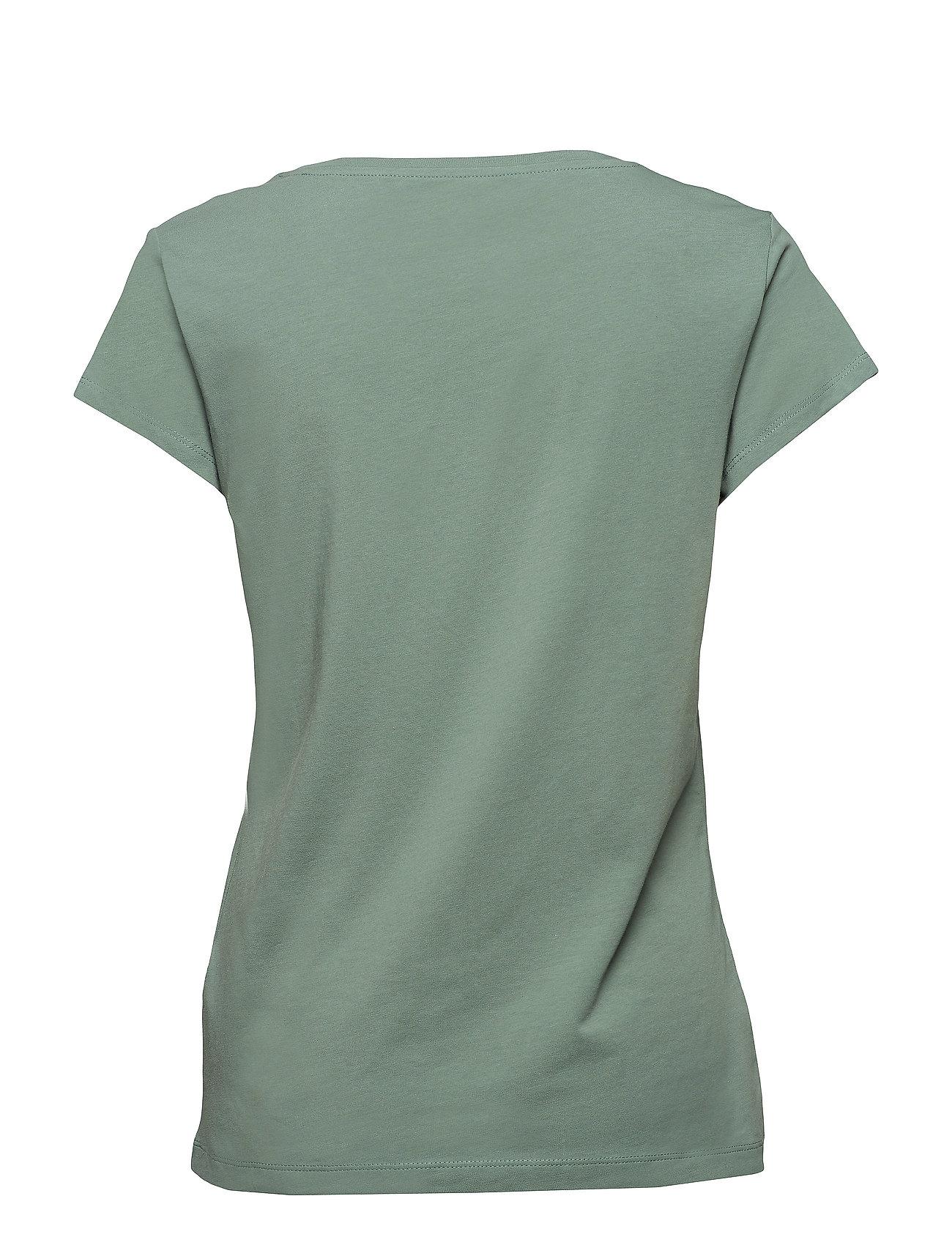 T Shirts T shirt Top Grøn EDC BY ESPRIT