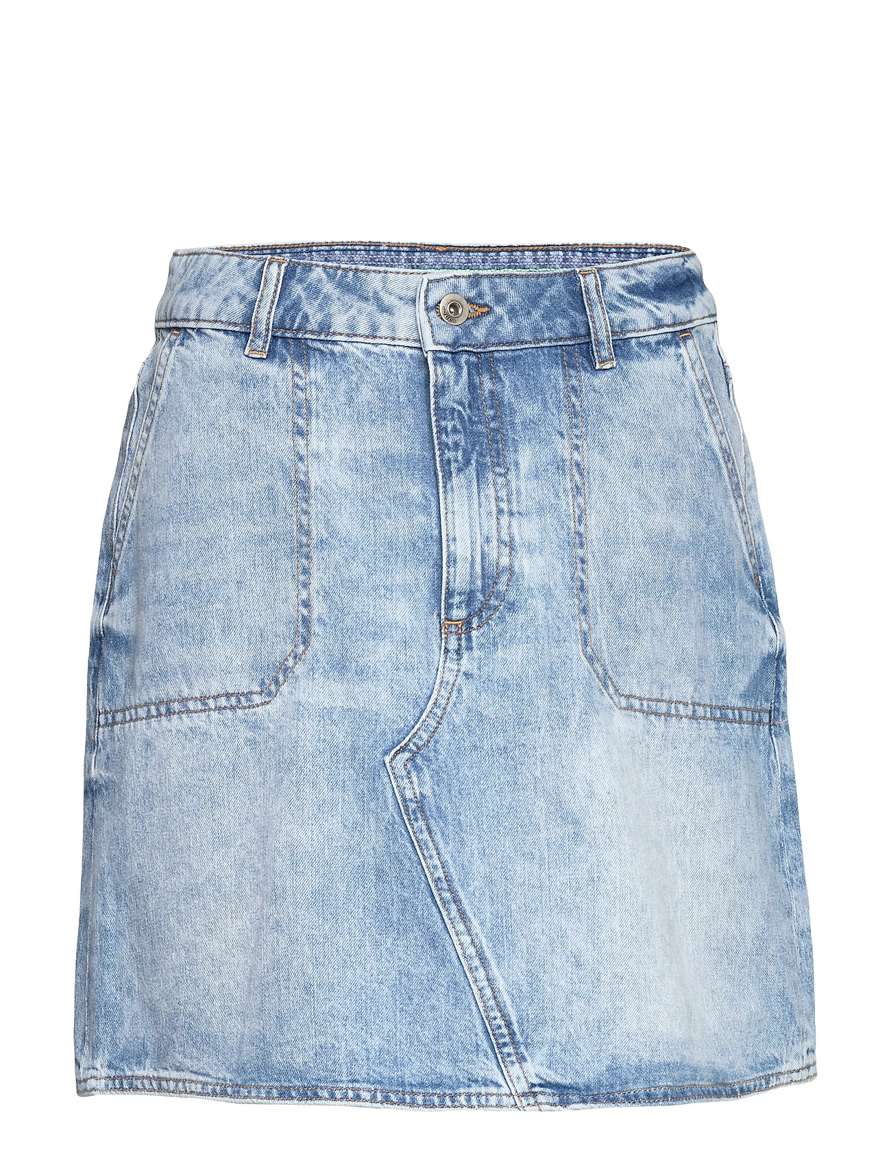 EDC by Esprit Skirts denim - BLUE BLEACHED