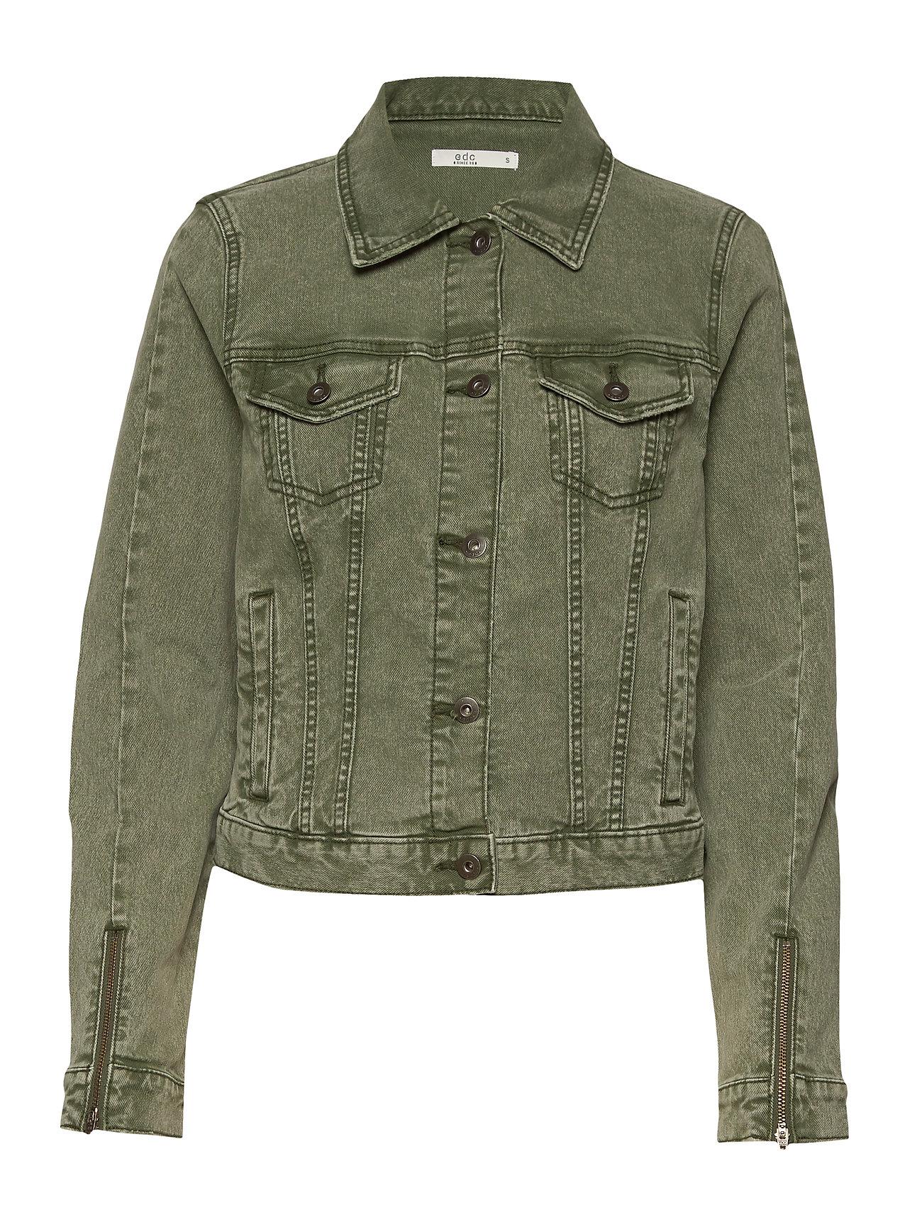 EDC by Esprit Jackets indoor woven - KHAKI GREEN