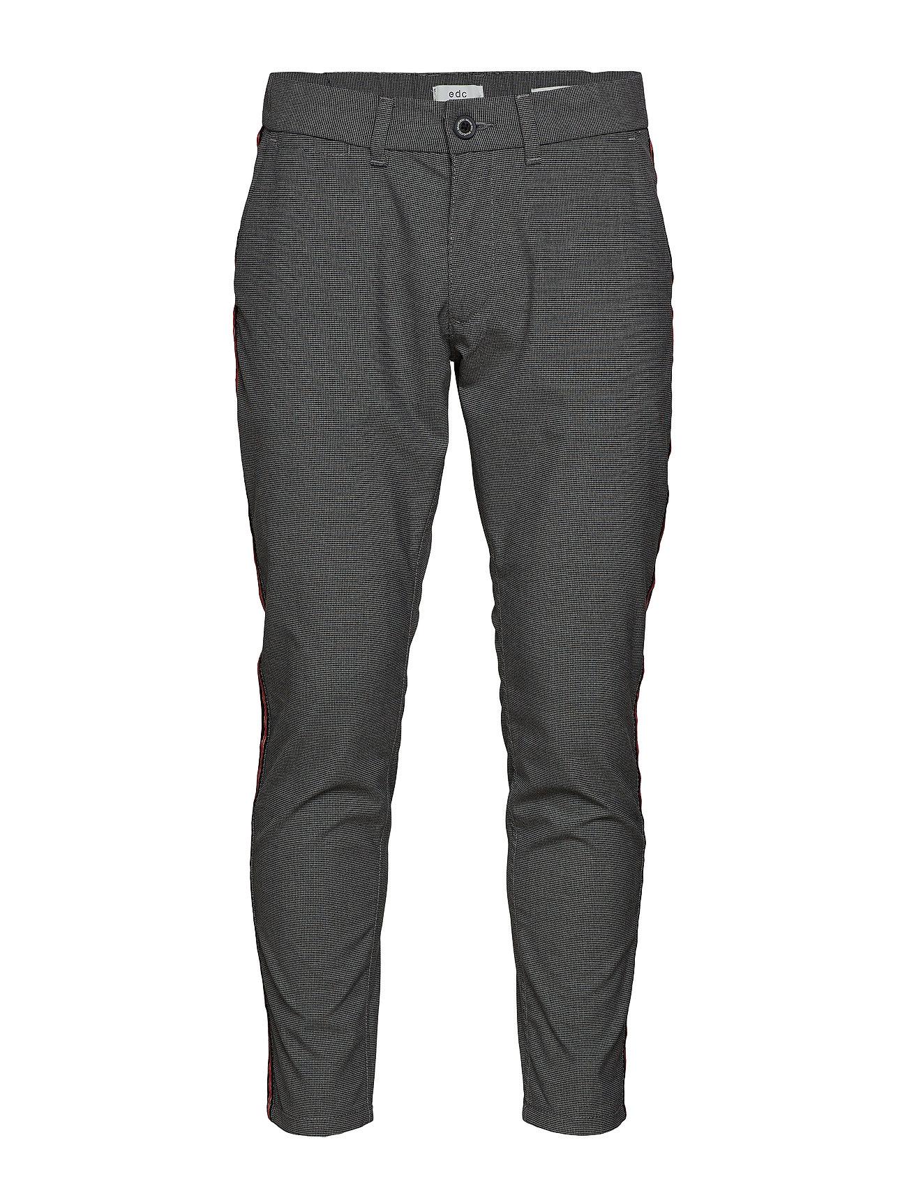 Pants Woven Chinos Bukser Grå EDC BY ESPRIT