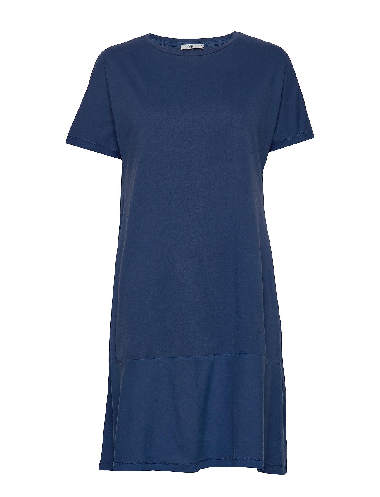 Image of Dresses Knitted Kort Kjole Blå EDC By Esprit (3360909191)