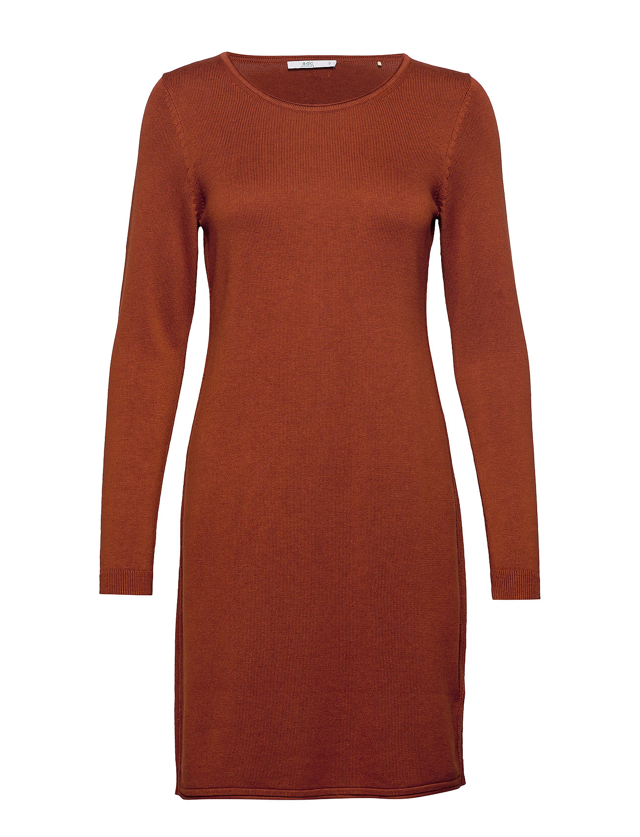 EDC by Esprit Dresses flat knitted - RUST BROWN 5