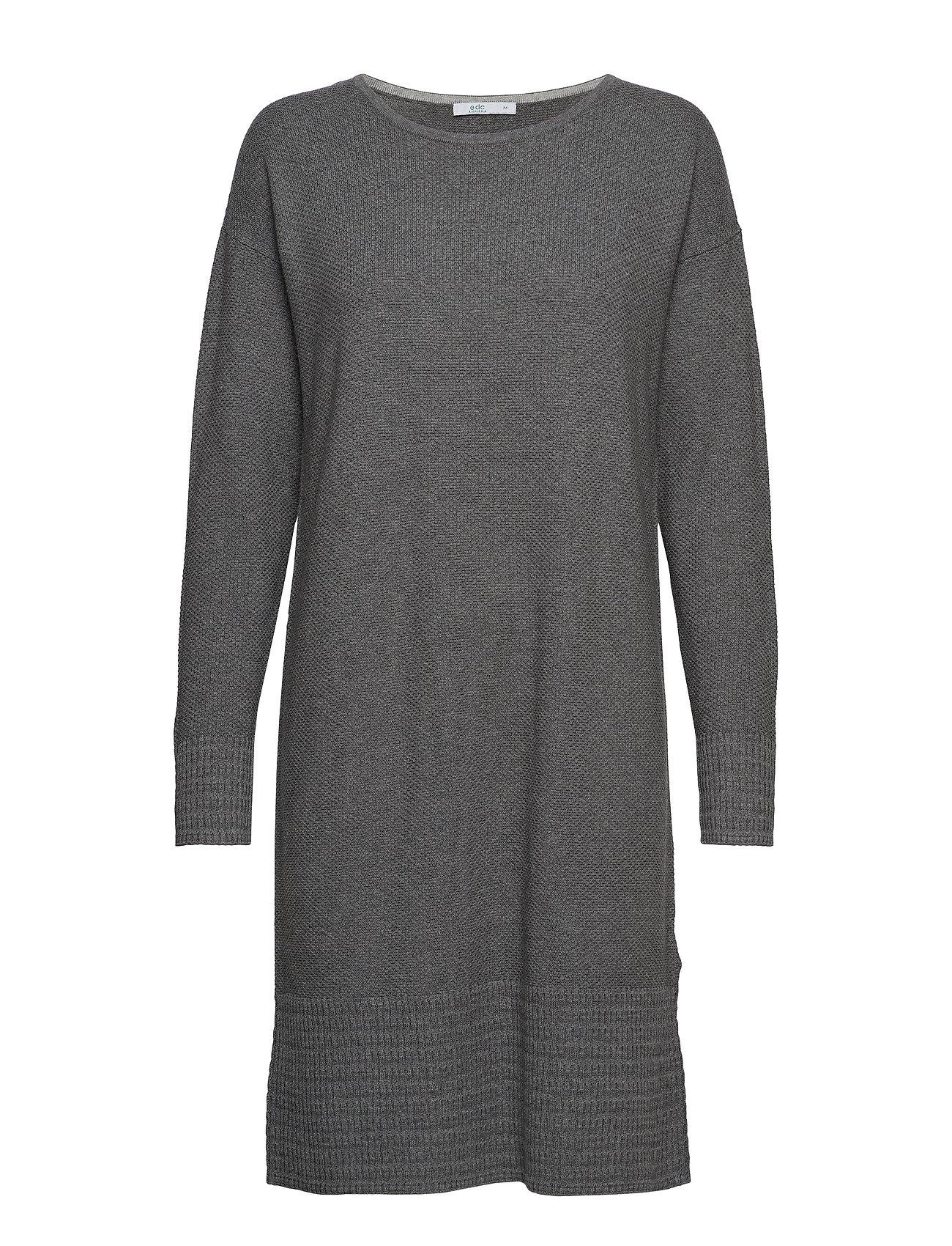 By Dresses Flat Knittedgunmetal Esprit 5Edc hdCsBQrxt