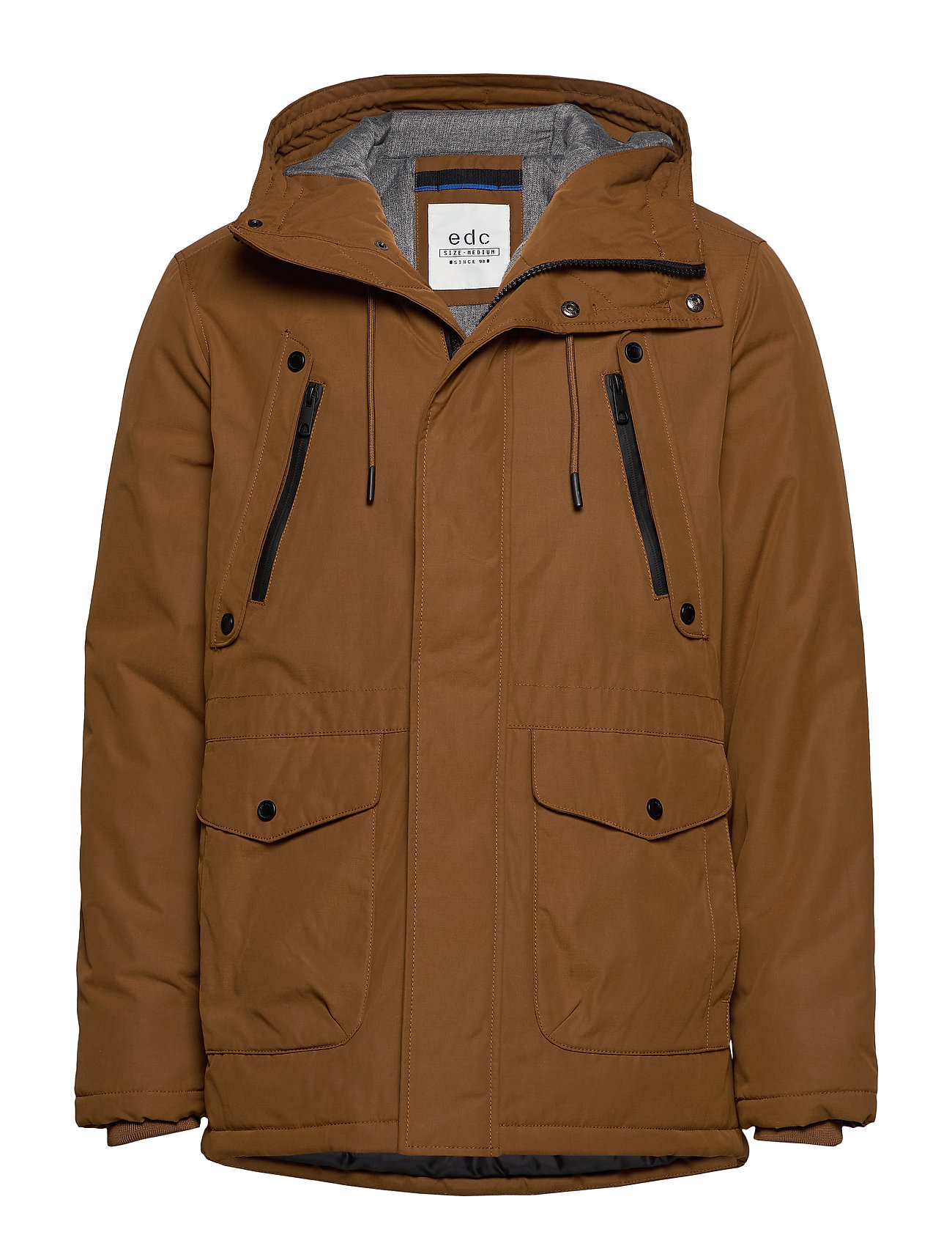 EDC by Esprit Jackets outdoor woven - TOFFEE