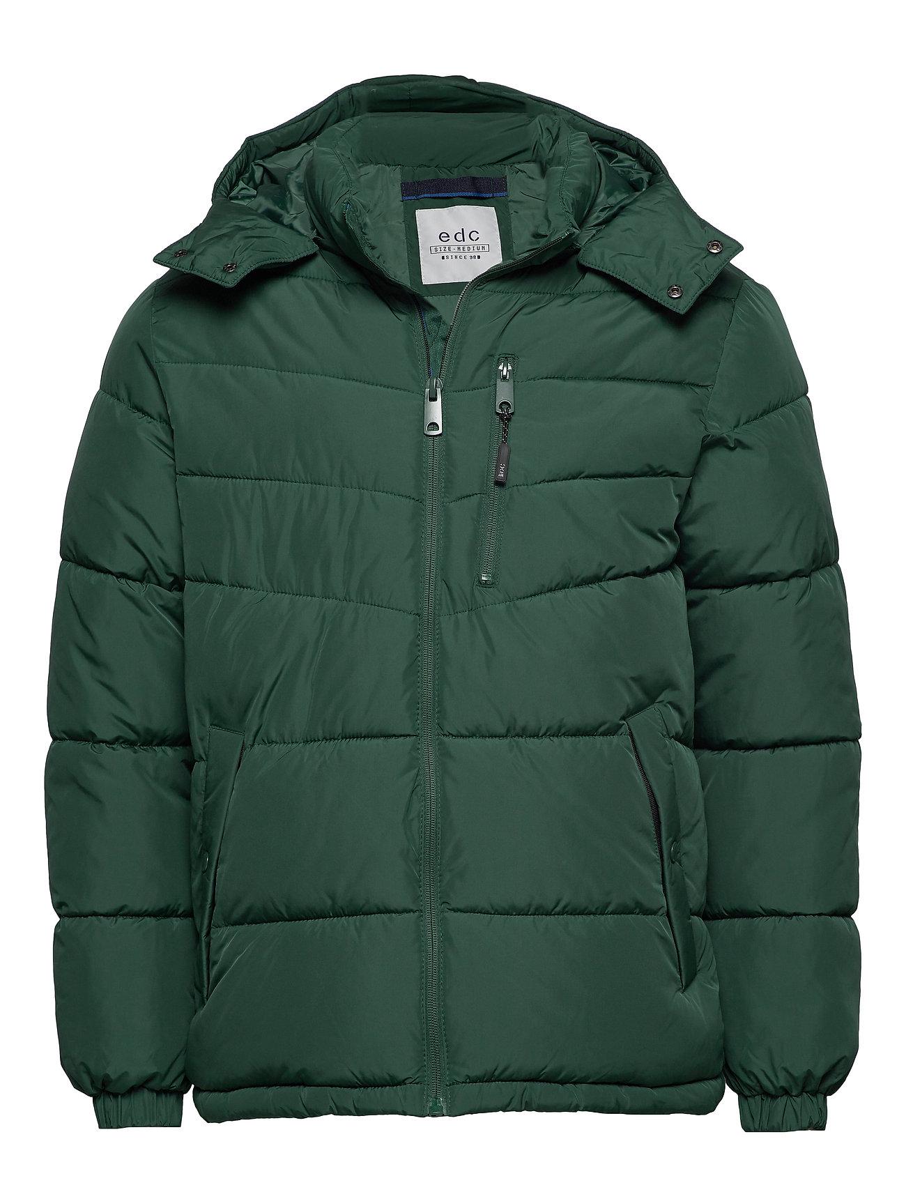 EDC by Esprit Jackets outdoor woven - DARK GREEN