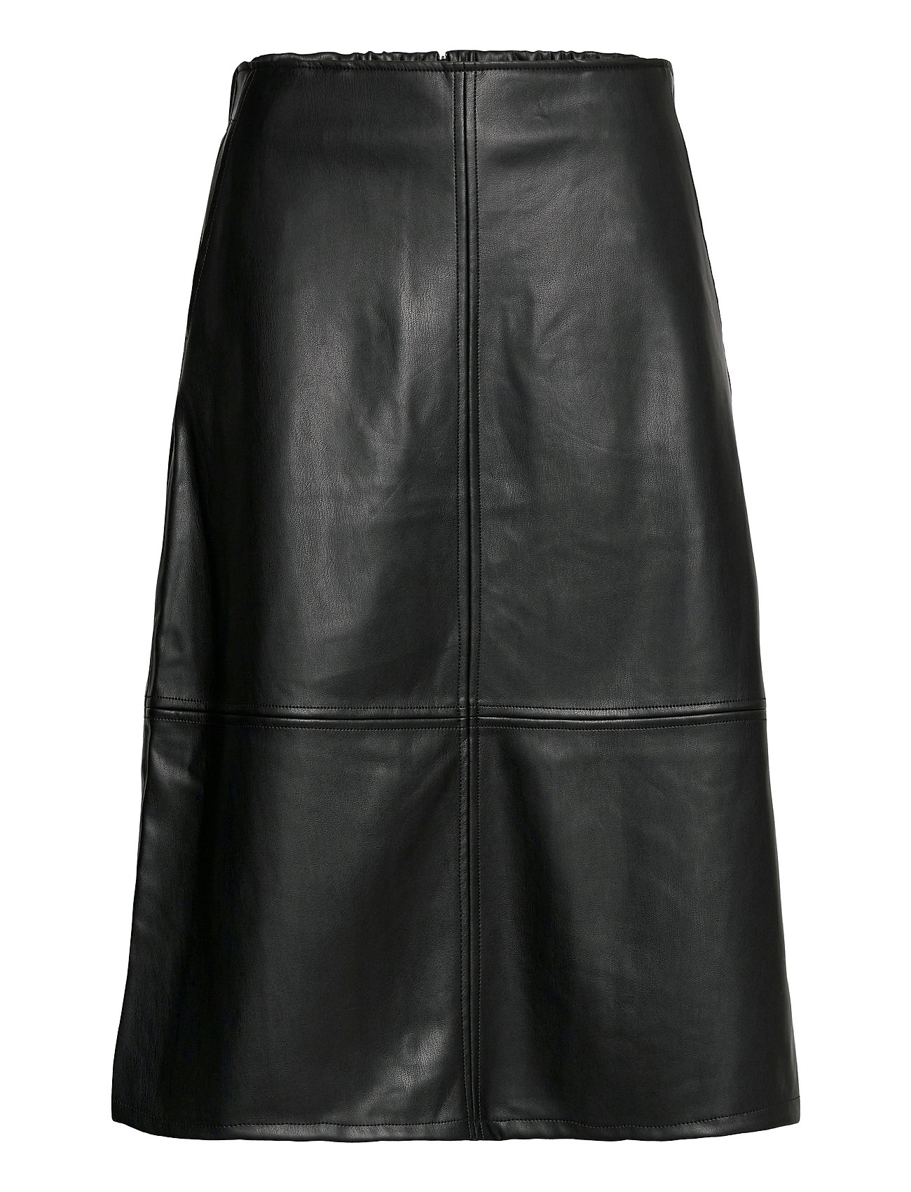 Image of Skirts Woven Knælang Nederdel Sort EDC By Esprit (3483310983)