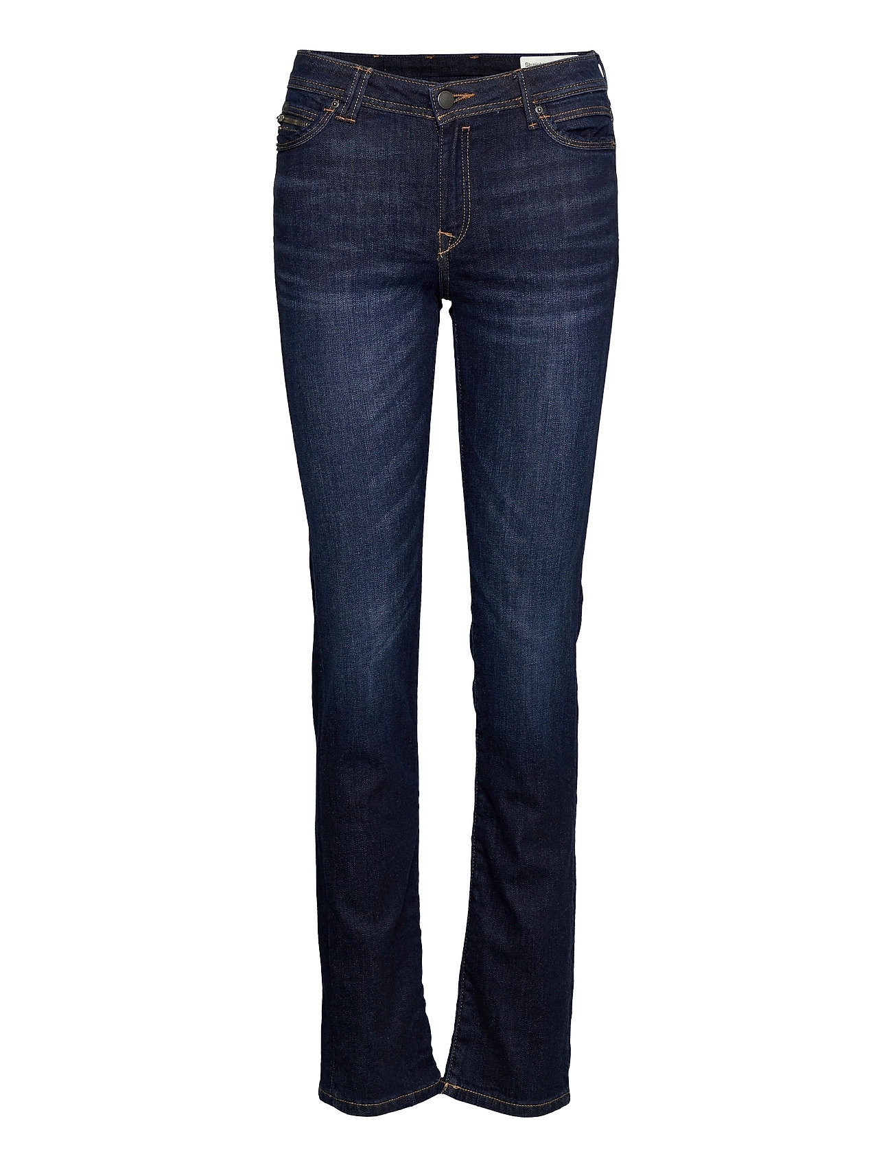 Pants Denim Slim Jeans Blå EDC By Esprit