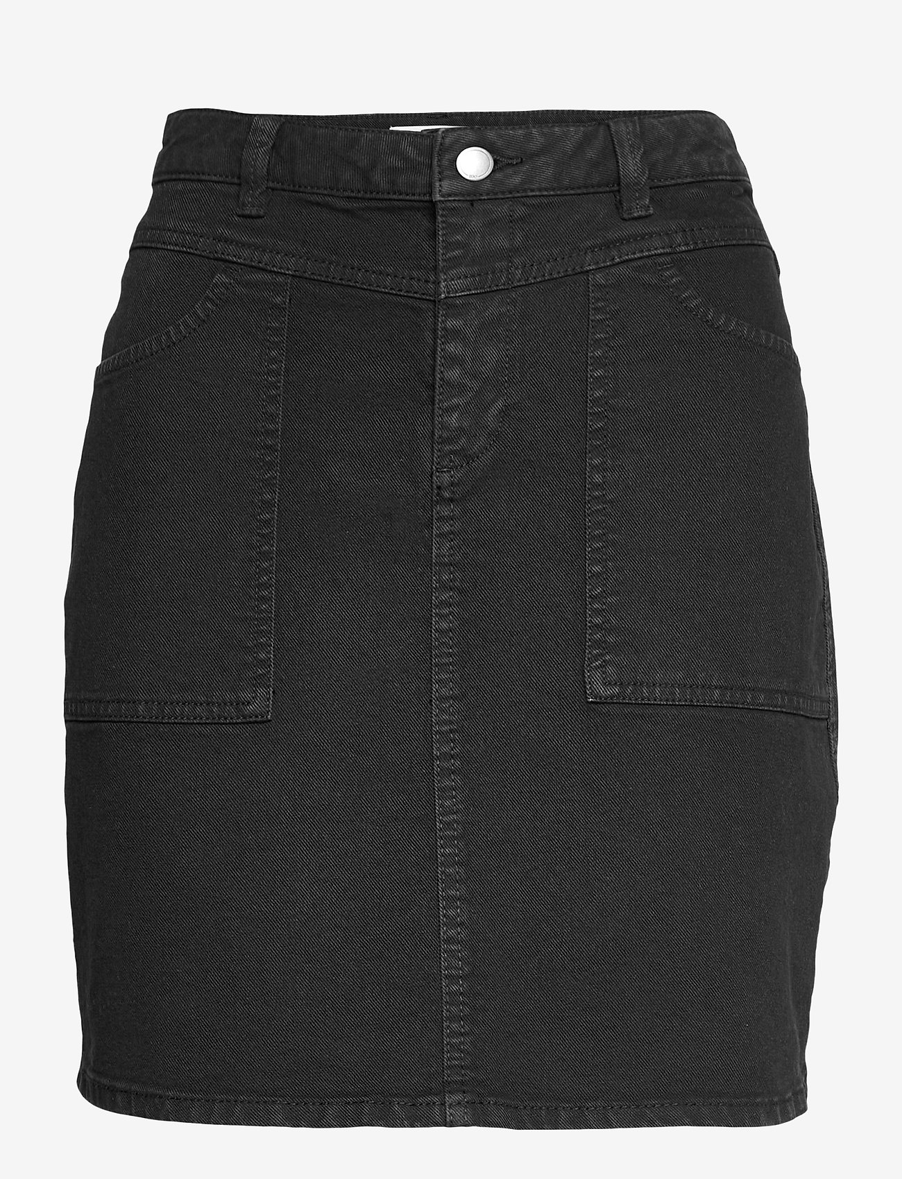 EDC by Esprit - Skirts woven - jeansröcke - black - 0