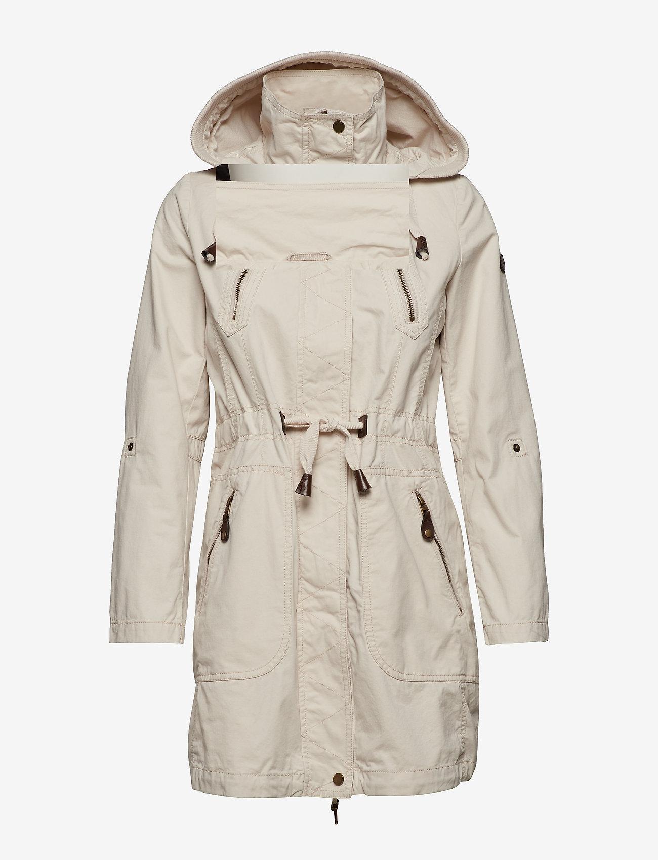 EDC by Esprit - Coats woven - parka coats - light beige - 1