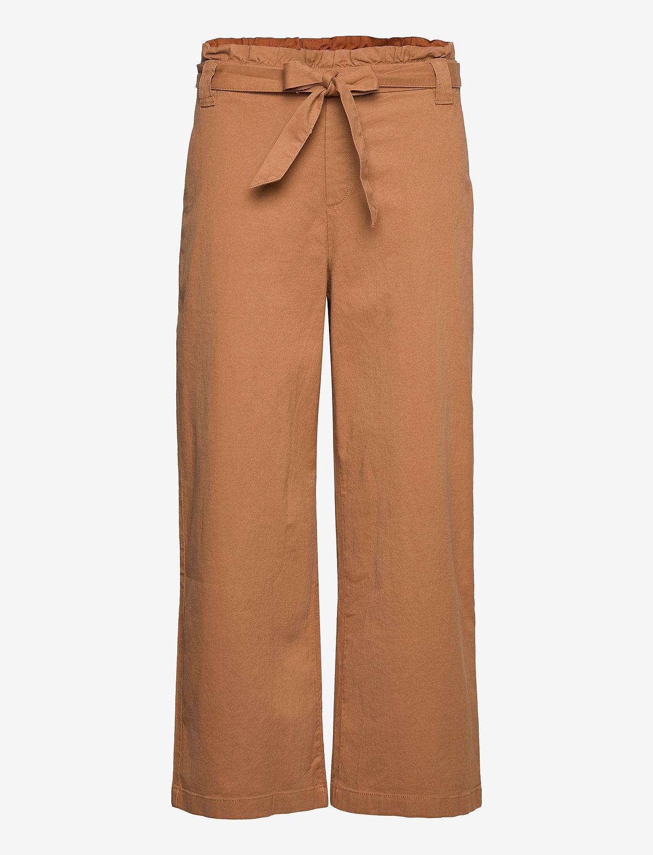 EDC by Esprit - Pants woven - bukser med brede ben - caramel - 0