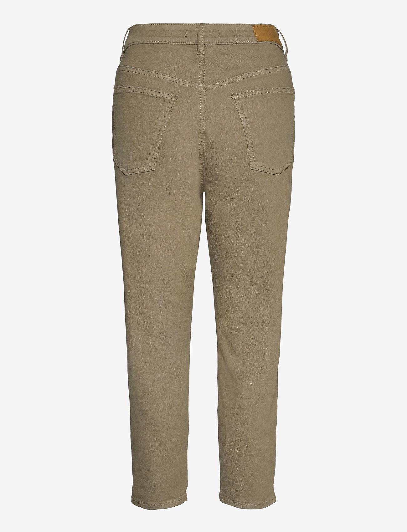 EDC by Esprit - Pants woven - straight regular - light khaki - 1