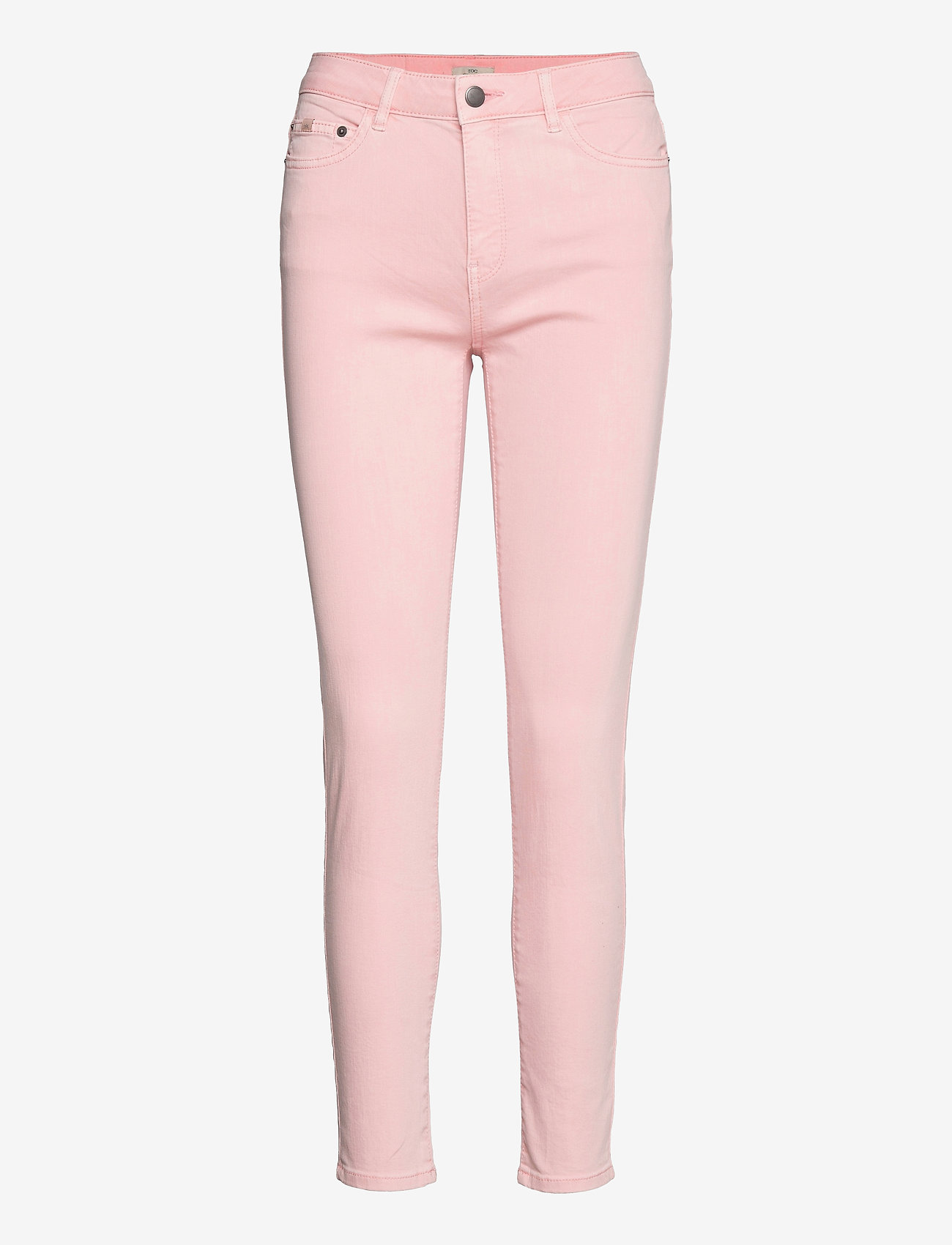 EDC by Esprit - Pants woven - slim fit bukser - light pink - 0