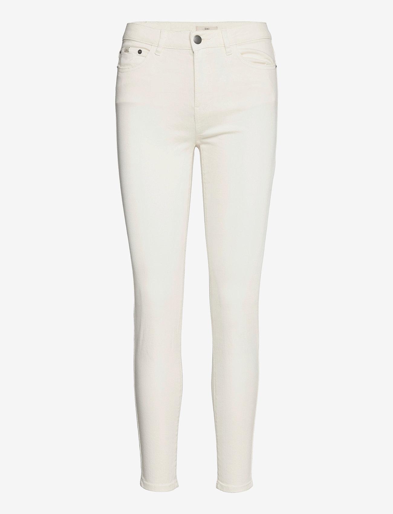 EDC by Esprit - Pants woven - slim fit bukser - white - 0