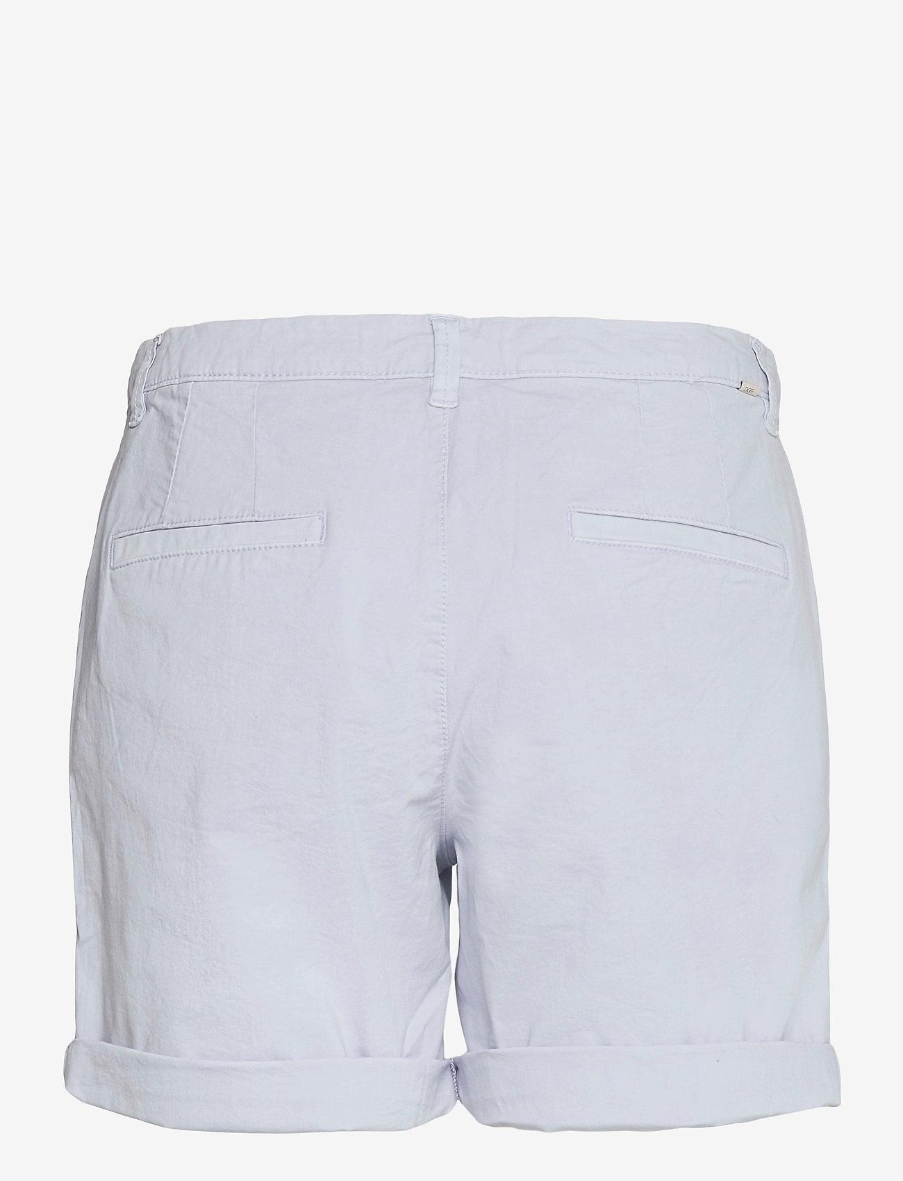 EDC by Esprit - Shorts woven - chino shorts - light blue lavender - 1