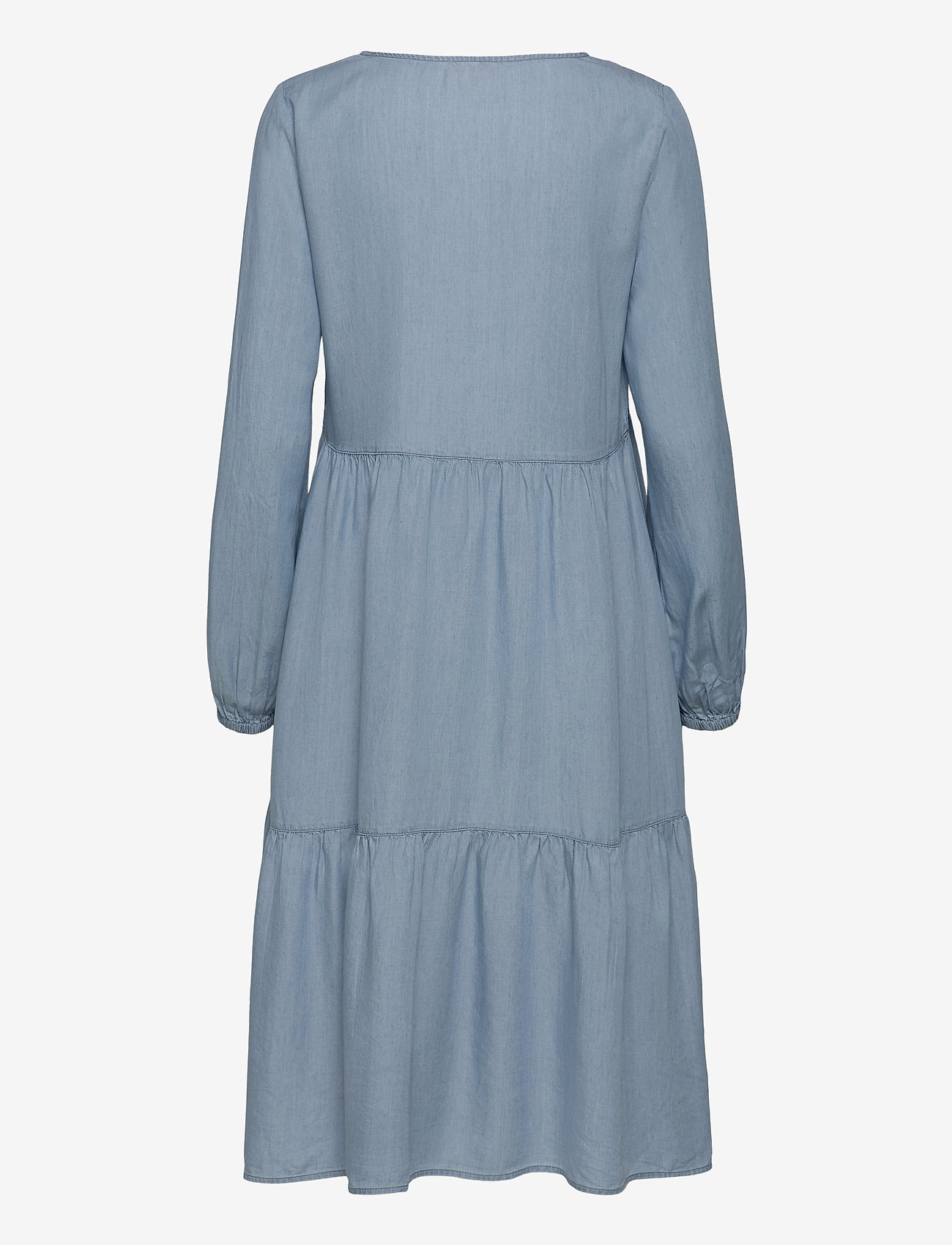 EDC by Esprit - Dresses denim - midi dresses - blue light wash - 1