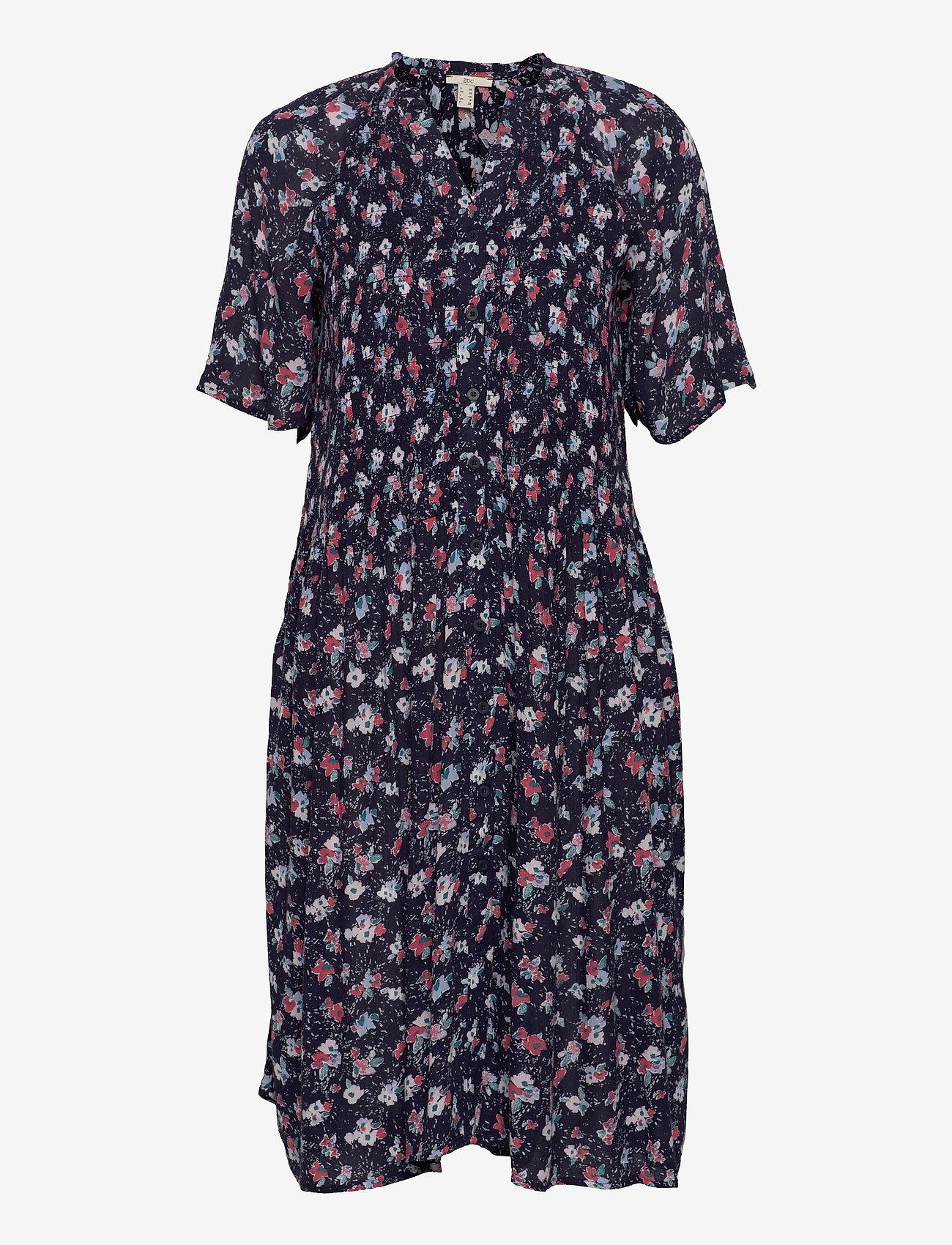 EDC by Esprit - Dresses light woven - sommerkjoler - navy 4 - 0