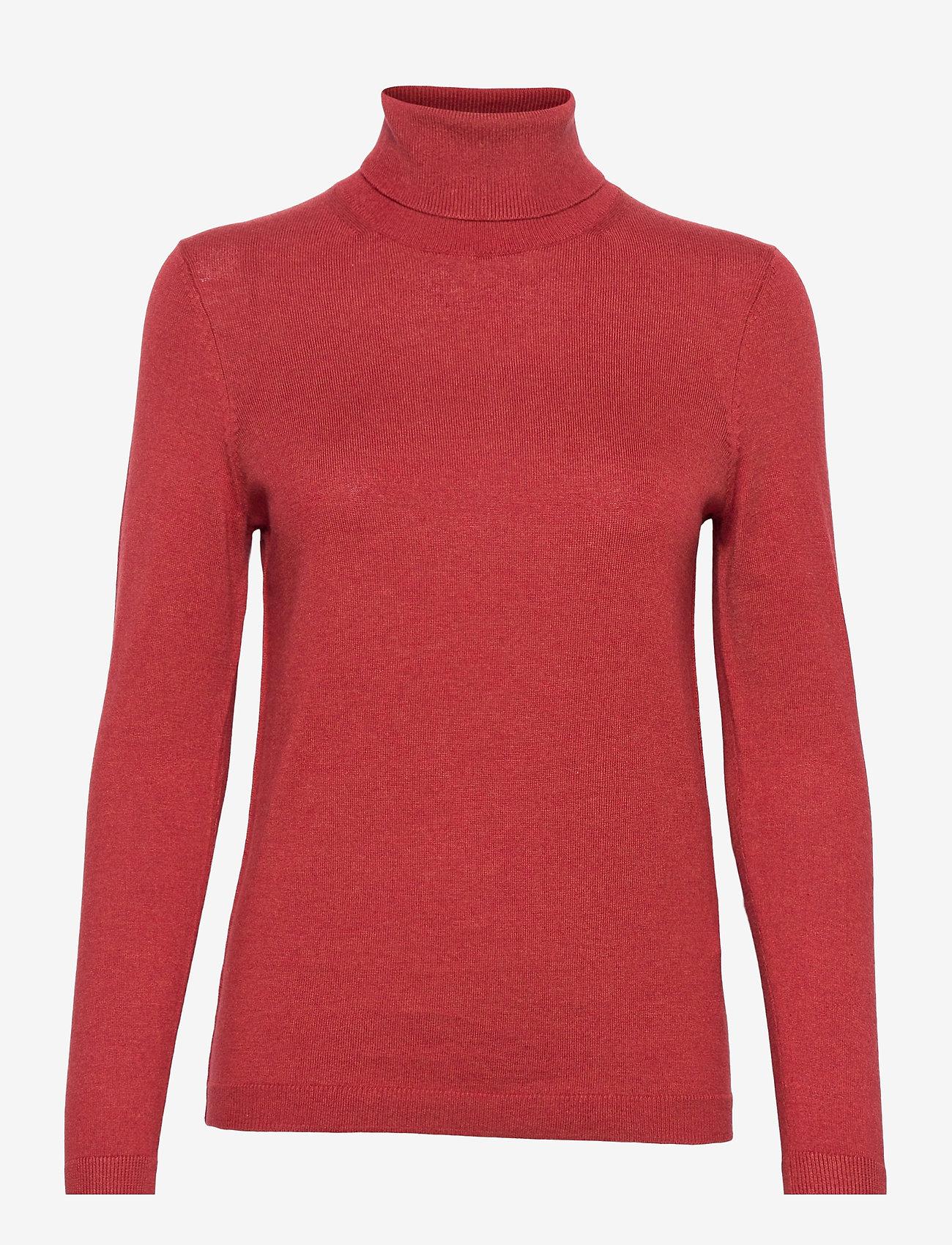 EDC by Esprit - Sweaters - turtlenecks - terracotta 5 - 0
