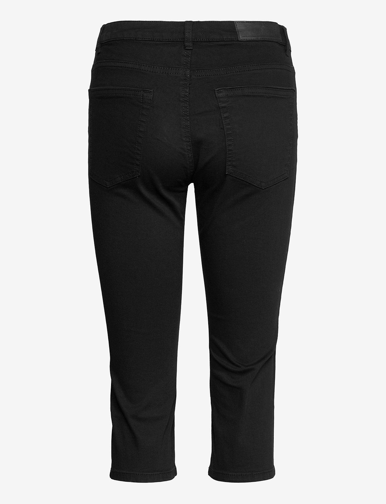 EDC by Esprit - Pants woven - pantalons capri - black - 1