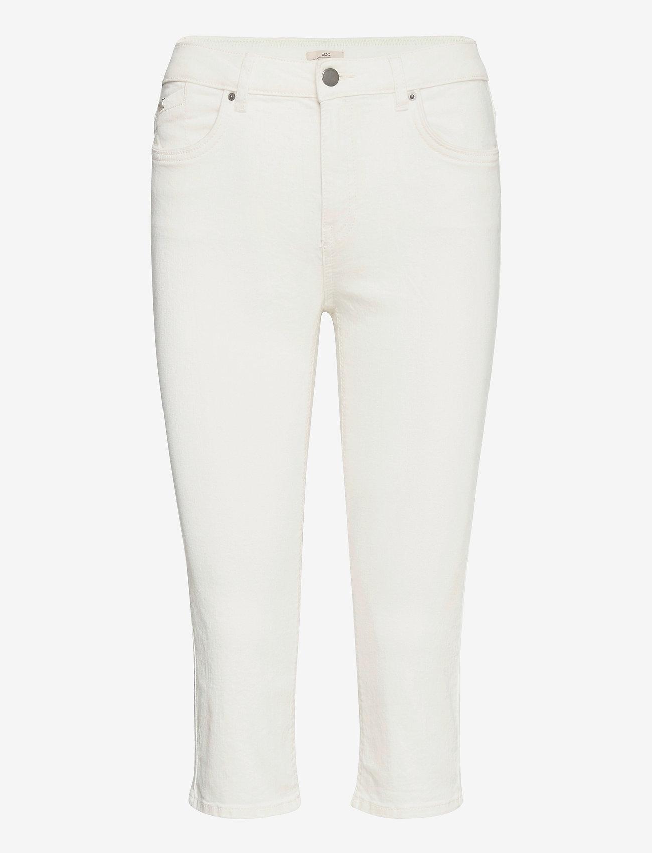 EDC by Esprit - Pants woven - pantalons capri - white - 0
