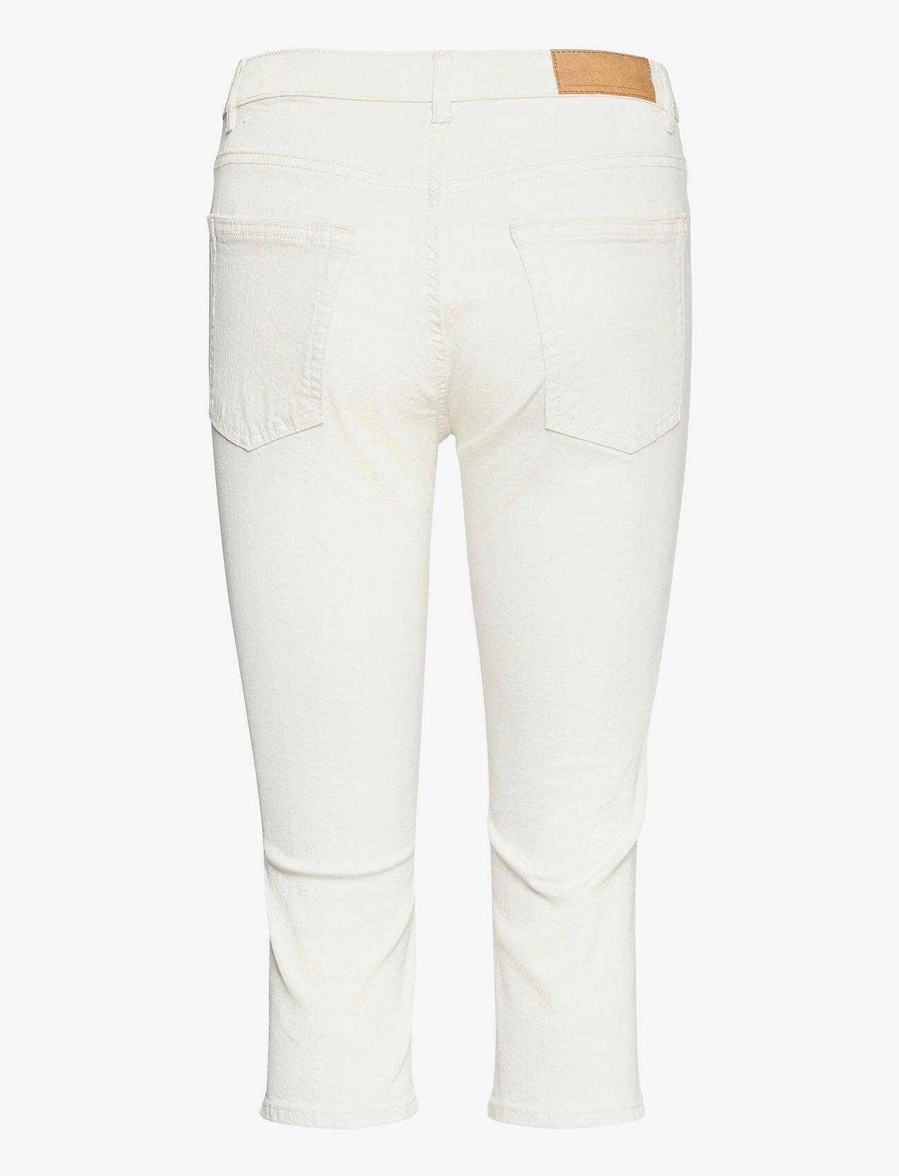 EDC by Esprit - Pants woven - pantalons capri - white - 1