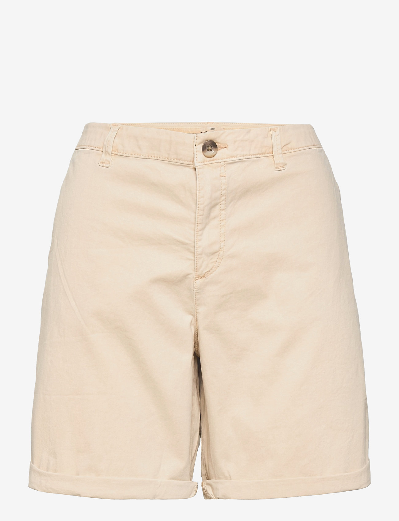 EDC by Esprit - Shorts woven - chino shorts - beige - 0
