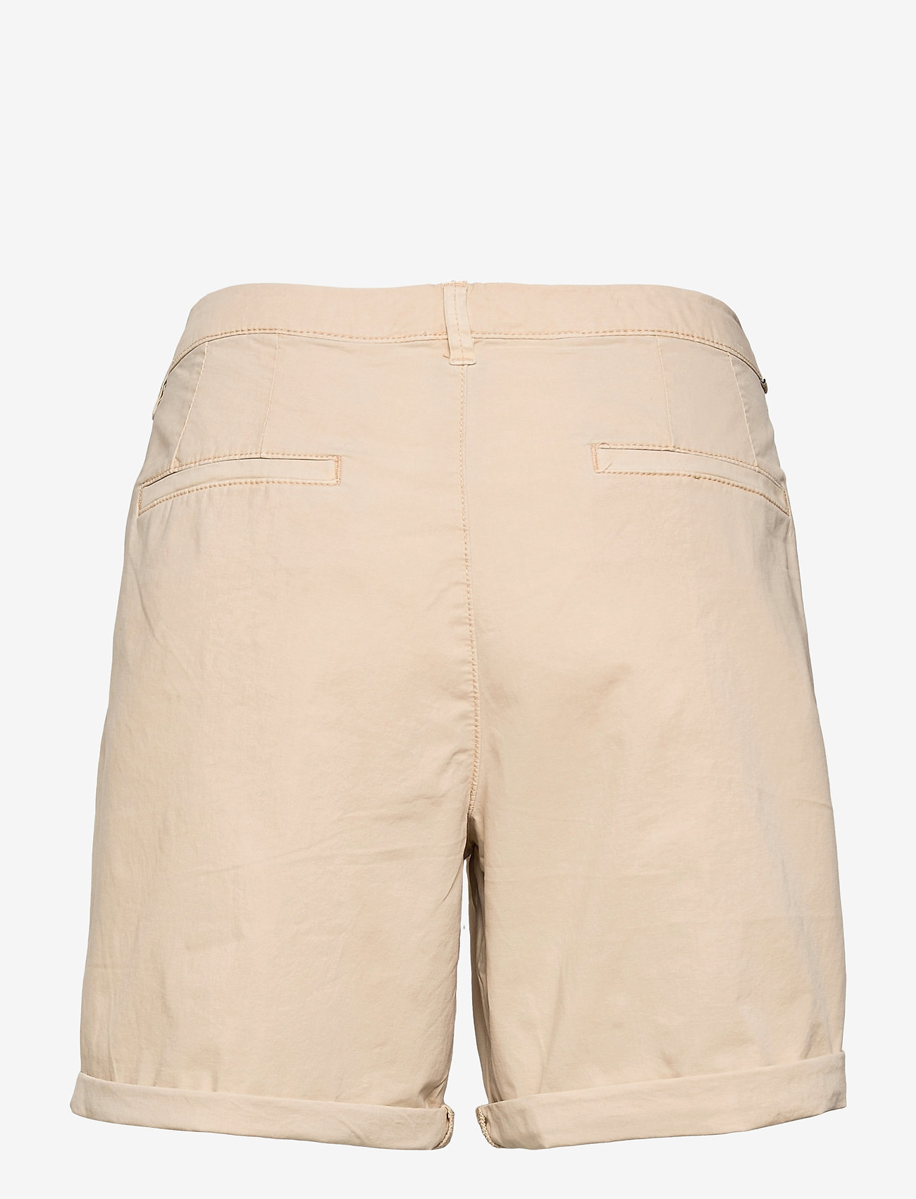EDC by Esprit - Shorts woven - chino shorts - beige - 1